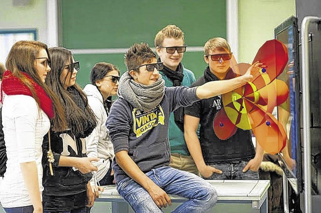 Dreidimensional präsentierte Filme war...e im Bereich der Naturwissenschaften.   | Foto: Visenso