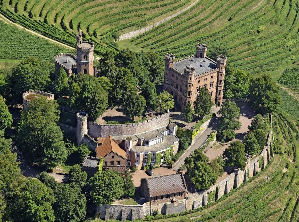 Schloss Ortenberg hatte sogar einen ka... Silberbergbau im Kinzigtal sicherte.   | Foto: Fotos: Dürbeck/Puppe