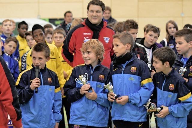 Bayern, Barca, Chelsea und Juventus beim Nachwuchsturnier