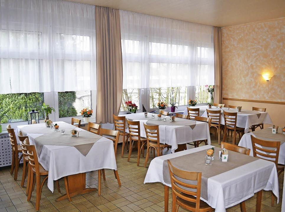 Blick in den neu eingerichteten  Gastraum   | Foto: Wieschenkämper