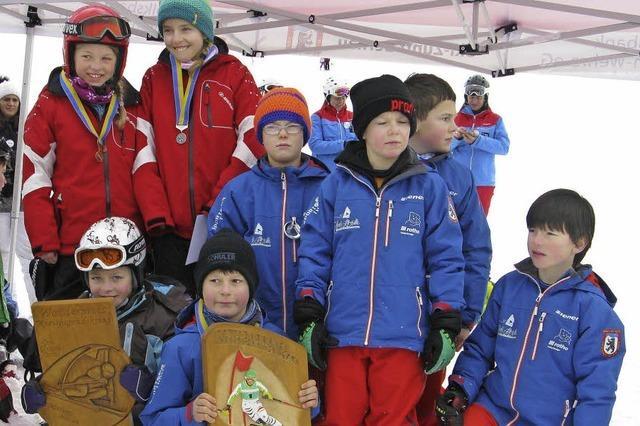 210 Teilnehmer bei Kreisjugendskitag alpin
