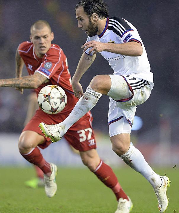 Spieler des Jahres: Auf die Tore von S...ks) kann sich der FC Basel verlassen.     Foto: DPA