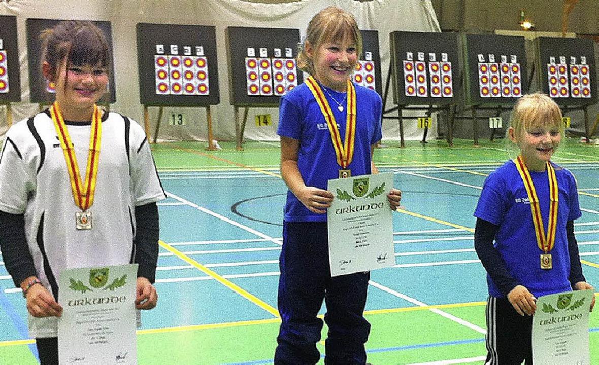 Die erfolgreichsten Mädels der Schüler...n (SG Zell), 3. Lena Riegert (SG Zell)  | Foto: zvg