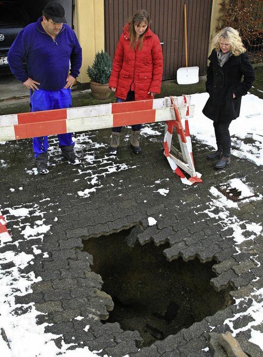 Das neue Loch von Hasel   | Foto: Meyer