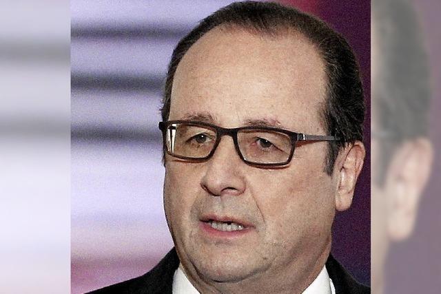 Hollande will die Solidarität nutzen