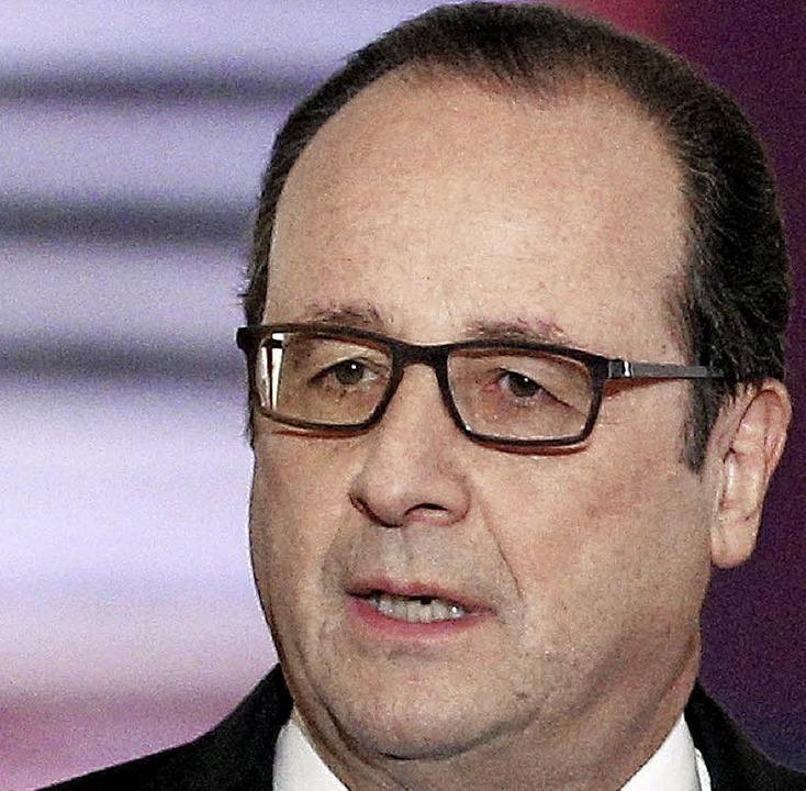 François Hollande     Foto: afp