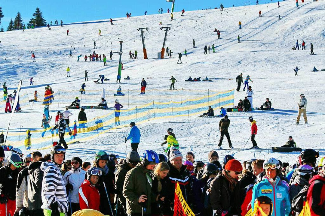 Das Skigebiet Feldberg landet auf Platz eins der deutchen Mittelgebirge.    Foto: Joachim Hahne