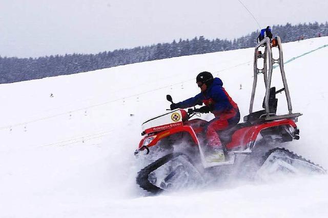 Quad kaputt – Bergwacht nur bedingt einsatzfähig