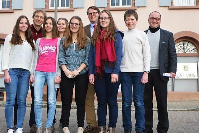 Schüler bringen Tobias Benz zum Swingen