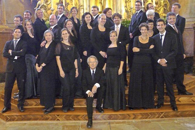 Freiburger Vokalensemble in St. Cyriak in Sulzburg