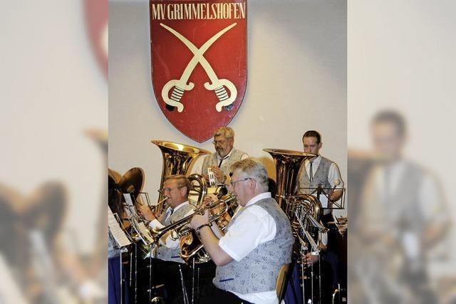 Musikverein Grimmelshofen feiert 140. Geburtstag
