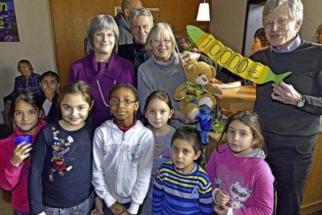 Rotarier unterstützen Familiencafé der Thomaskirche mit 10000 Euro