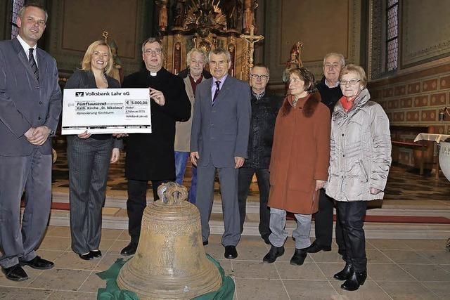 5000 Euro für Klaus-Glocke