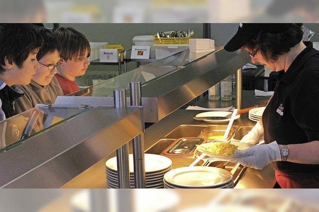Großraum-Mensa für drei Schulen ist noch nicht vom Tisch
