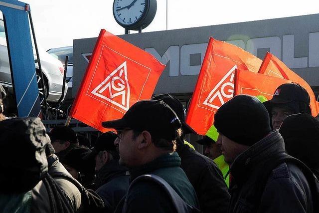 Mosolf-Mitarbeiter wollen mehr Geld und Bildungszeit