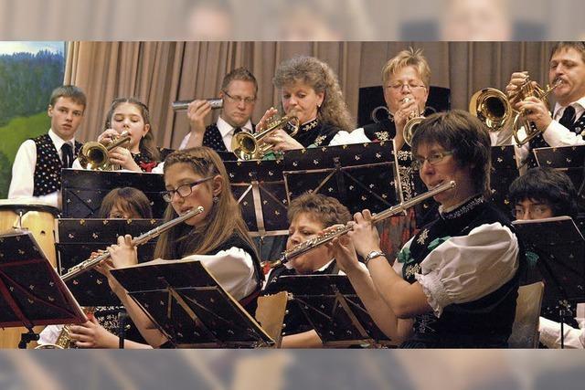 Musikverein Trachtenkapelle Menzenschwand gibt närrisches Konzert