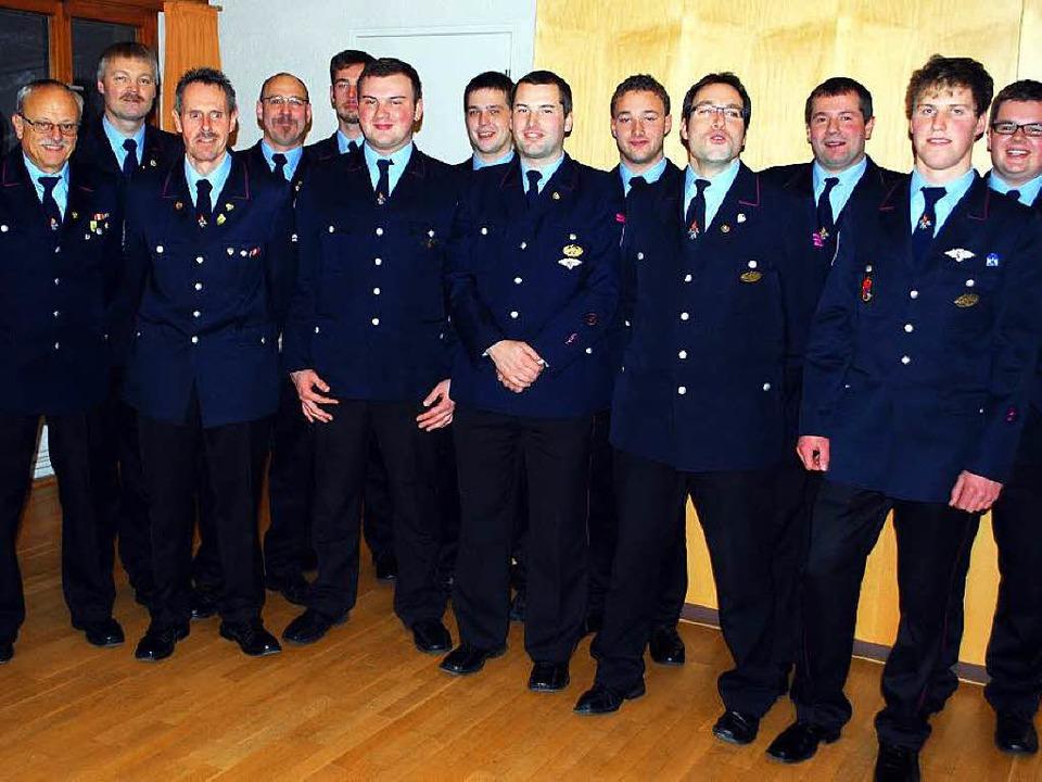 Die Todtnauer Feuerwehr bleibt für ihre wichtigen Aufgaben auf der Höhe.    | Foto: zvg