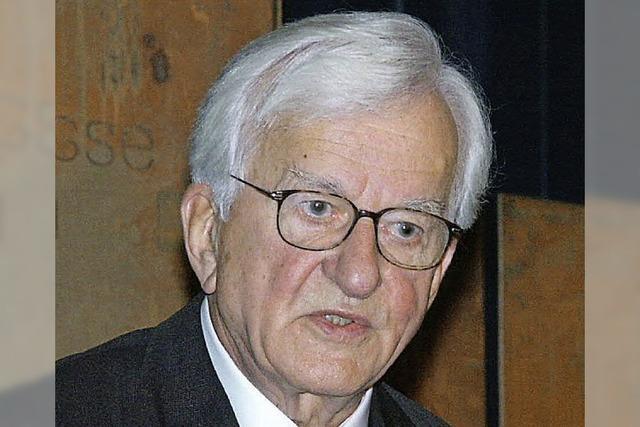 RHEINGEFLÜSTER: Breisach blieb Weizsäcker lange im Gedächtnis