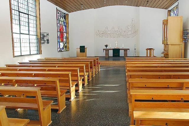 Der Kirchenraum erstrahlt in neuem Glanz