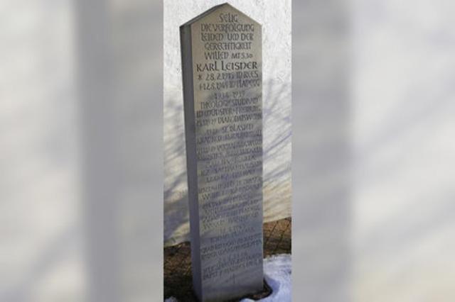 Sonderbriefmarke erinnert an Karl Leisner - Leidensweg des NS-Opfers begann in St. Blasien