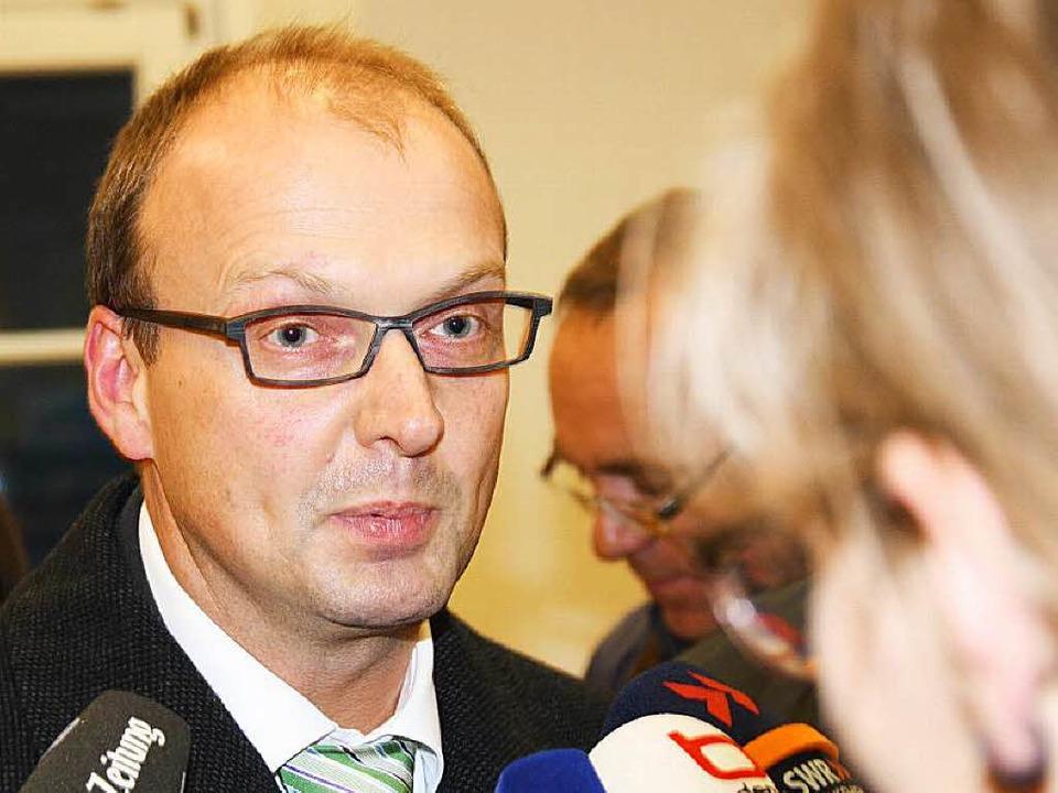 Er lässt nicht locker: Rickenbachs Ex-... die Wiederaufnahme seines Verfahrens.    Foto: archivfoto: krug