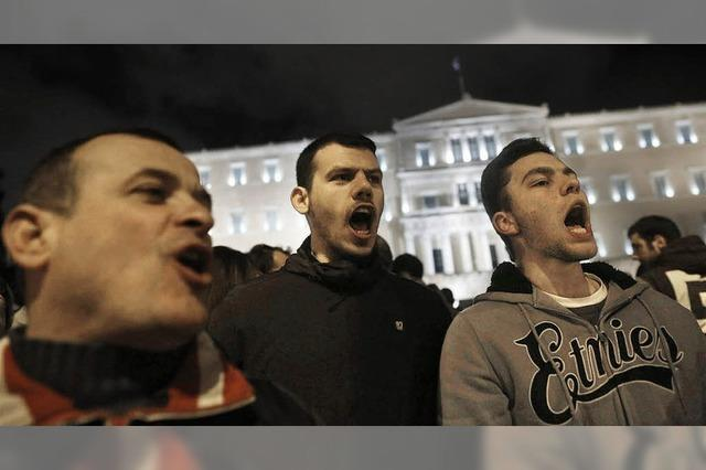 Unterstützung für Premier Tsipras