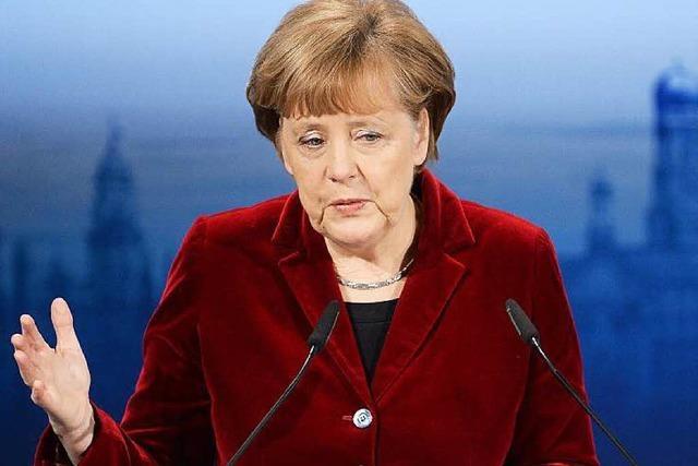 Merkel nach Friedensgespräch zurückhaltend