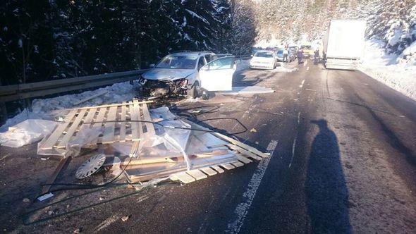 B31 Unfall Gestern