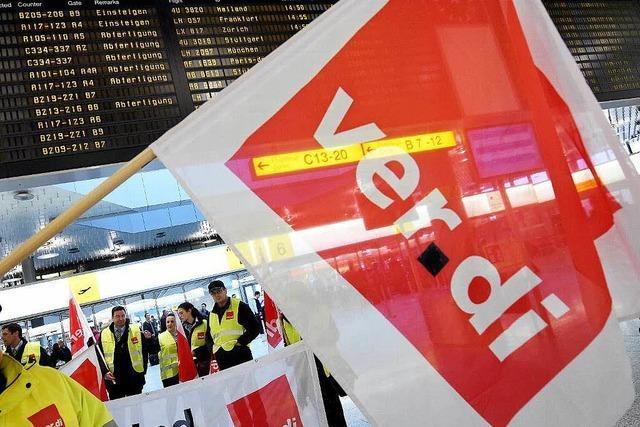 Streiks am Stuttgarter Flughafen für Montag geplant