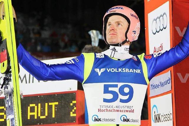 Freund beim Weltcup in Titisee-Neustadt disqualifiziert