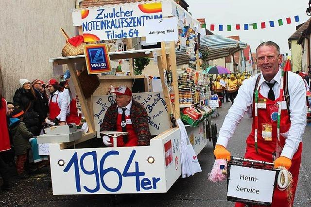 Fasnacht: Narrenumzug in Merdingen