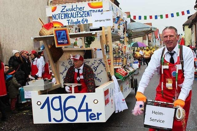 Fasnacht: Narrenumzug in Merdingen