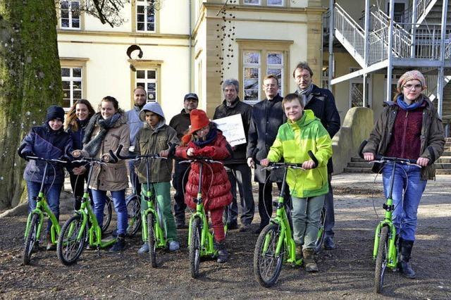 Roller sorgen für Mobilität
