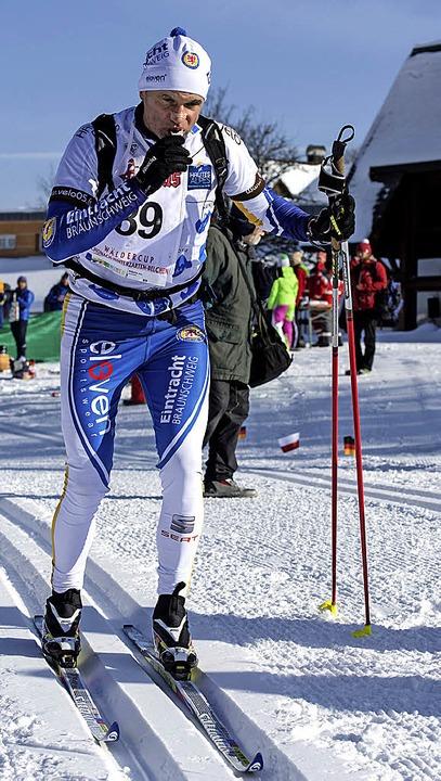 Starker Senior: Dirk Debertin gewann den Rucksacklauf über 100 Kilometer.   | Foto: patrick seeger