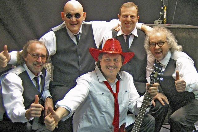 Die Band Deep Kick gastiert in Waldshut-Tiengen