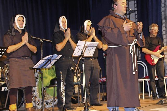 Filmreifes Programm bei der Musikerfasnacht