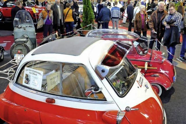 Die Vielfalt der automobilen Welt in der Messe Freiburg