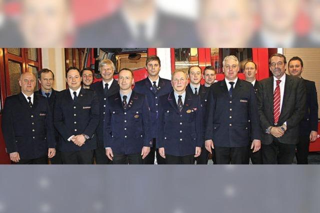 Nervenaufreibendes Jahr für die Ihringer Feuerwehr