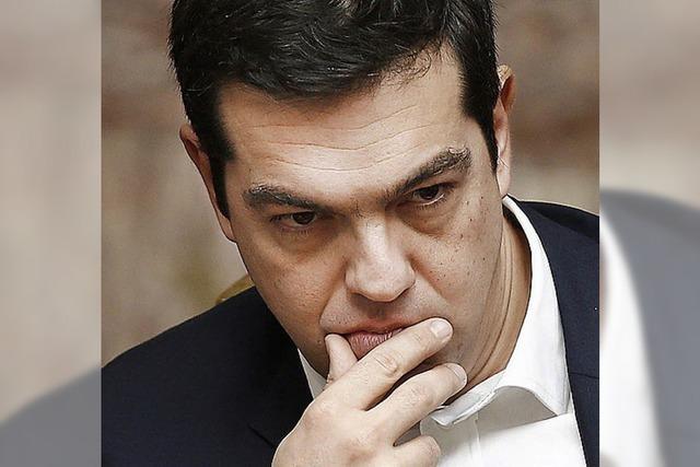 Finanzminister Schäuble macht Druck auf Griechenlands Premier Tsipras