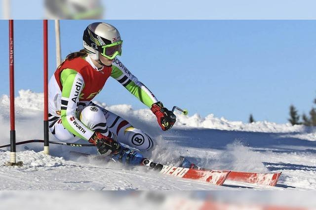 Lea Mai düst souverän zum Slalomtitel