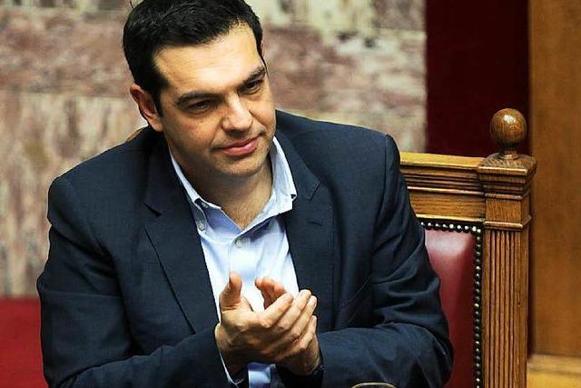Griechisches Parlament spricht Tsipras das Vertrauen aus