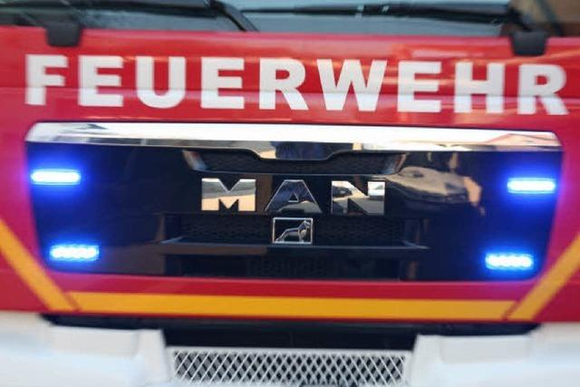 Kaminbrand in Friesenheim