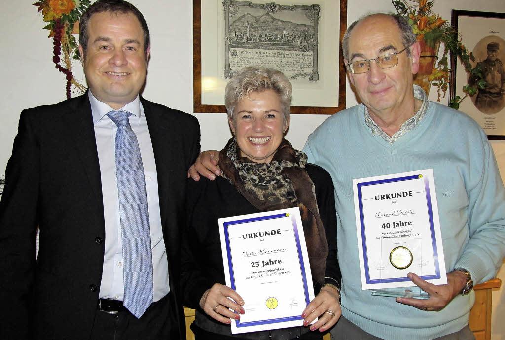 Tennisclub wirbt um Mitglieder - Endingen - Badische Zeitung