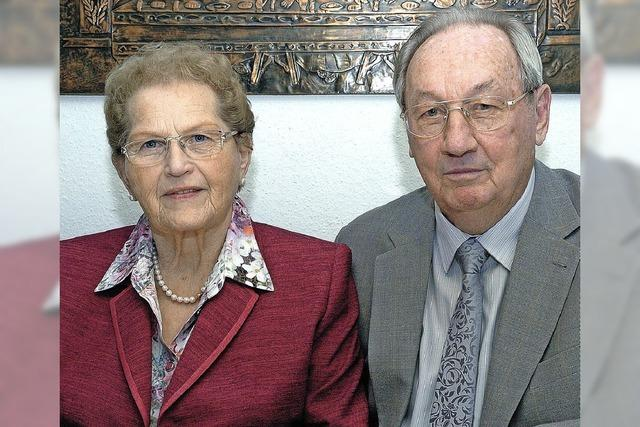 Seit 60 Jahren ein Paar
