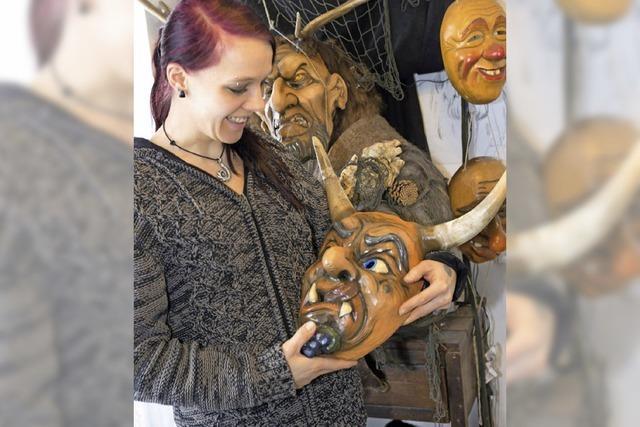 Maskenausstellung in Grafenhausen