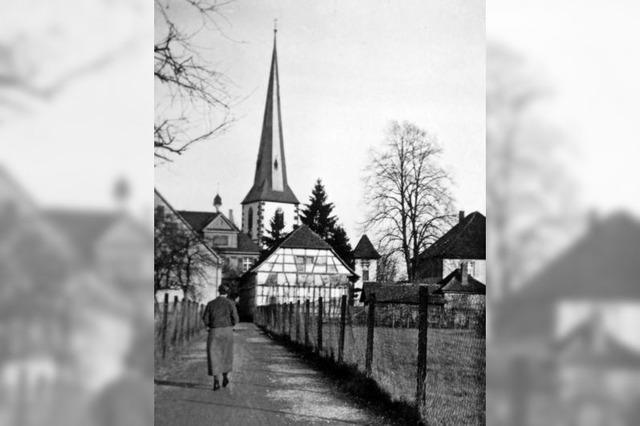 Kirchturm wurde vor 70 Jahren zerstört