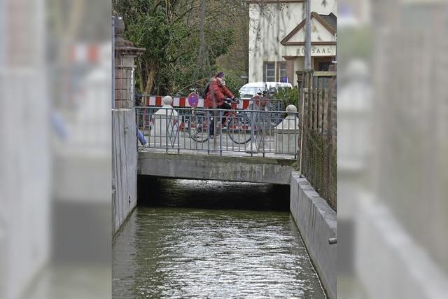 Brücke an der Sautierstraße ist marode