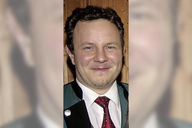 Emmanuel Schwald ist neuer Vorsitzender des Fördervereins MV Wieslet