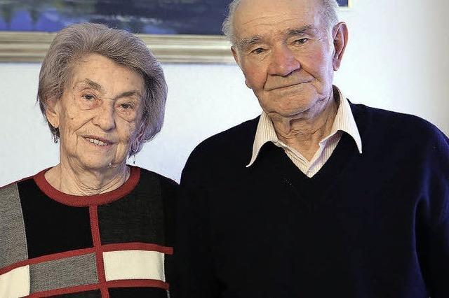 65 Jahre für einander da, in erst schlechten und dann guten Zeiten
