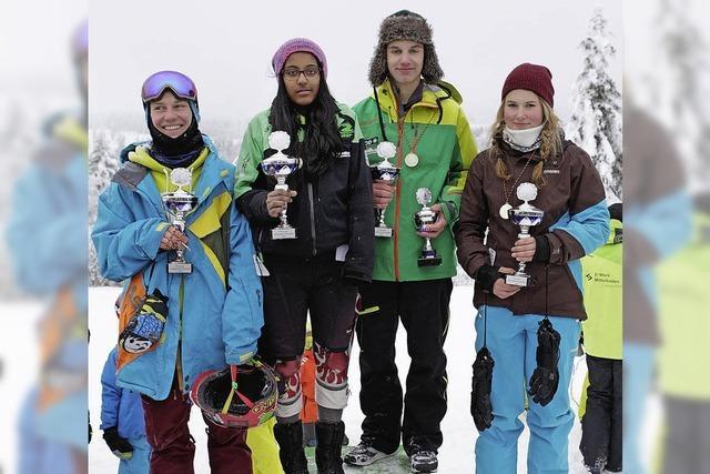 Schiller-Gymnasiums hat viele schnelle Wintersportler